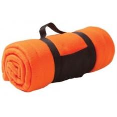 Оранжевый плед Soft