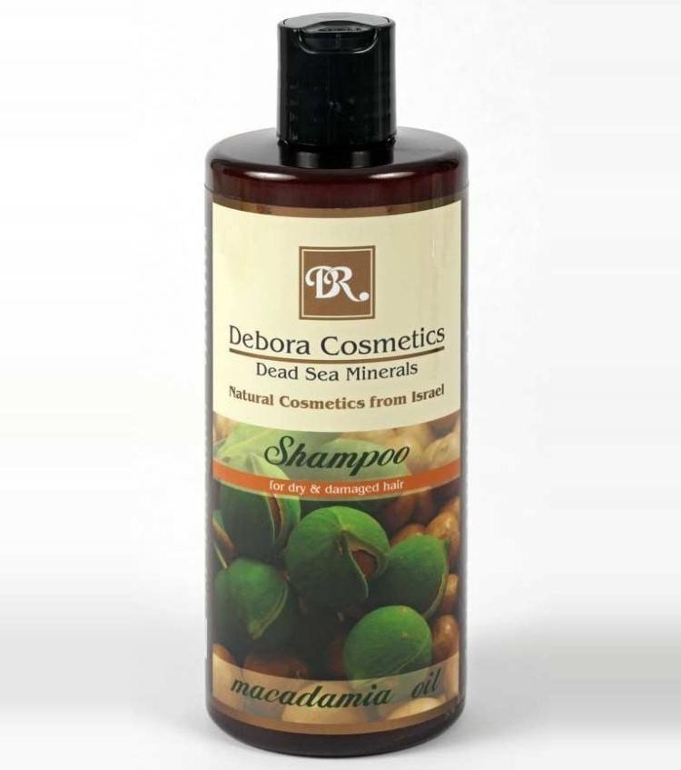 Шампунь с маслом макадамии для сухих и поврежденных волос
