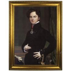 Портрет по фото на холсте Мужчина со шпагой