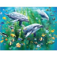 Пазл Трио дельфинов, Ravensburger