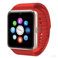 Красные умные часы Smart Watch GT08