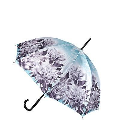 Голубой женский зонт Eleganza