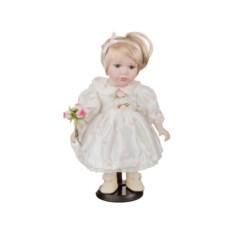 Фарфоровая кукла Милана с мягконабивным туловищем