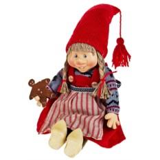 Декоративная кукла Хохотушка