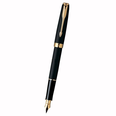 Перьевая ручка Parker Black Lacquer