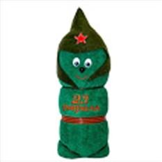 Полотенце «Солдатик, 23 февраля»