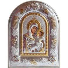 Икона Вифлеемская Божья Матерь в серебряном окладе