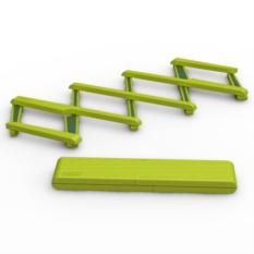 Зеленая подставка под горячее, раскладная Stretch