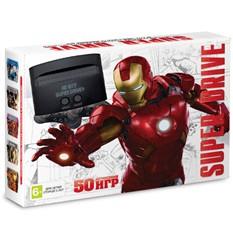 Игровая приставка Sega Super Drive Iron Man + 50 игр