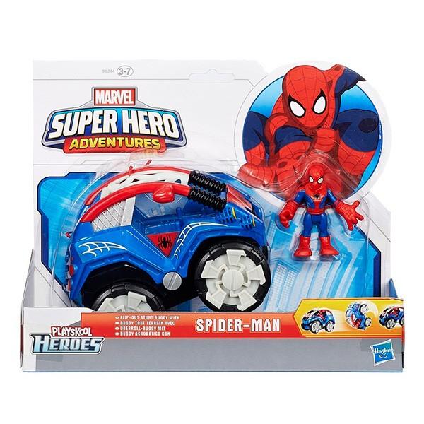 Фигурка Марвел и транспорт от Hasbro Playskool Heroes