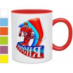 Кружка Россия, хоккей