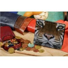 Портмоне с принтом Бенгальский тигр