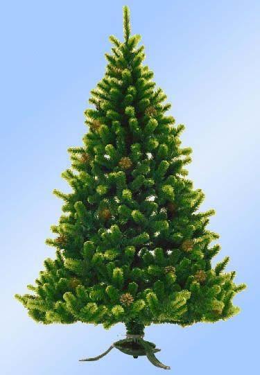 Искусственная елка Сказка с шишками