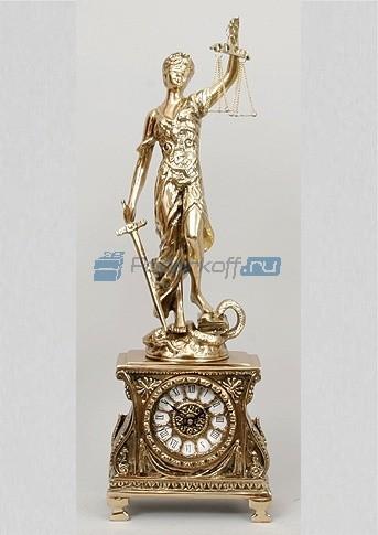 Часы из бронзы Правосудие