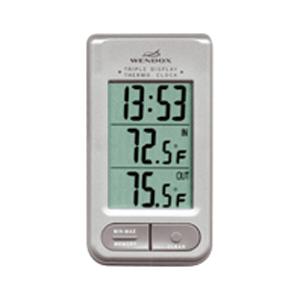 Часы с температурным датчиком
