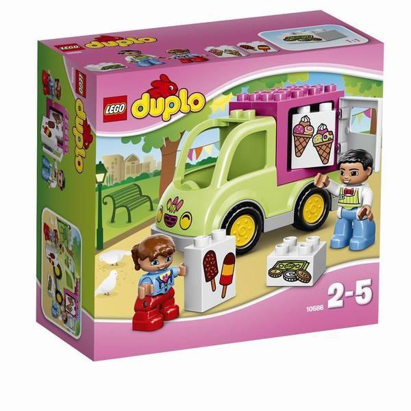 Конструктор LEGO DUPLO Фургон с мороженым