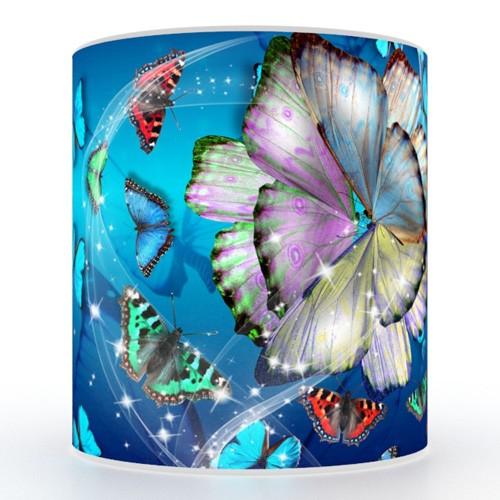 Кружка с 3D печатью Бабочки
