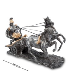 Статуэтка Воин на колеснице , длина 26 см