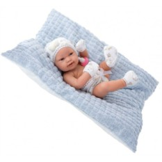 Кукла-младенец Бенни в голубом