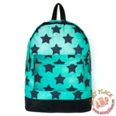 Голубой рюкзак Звездочки