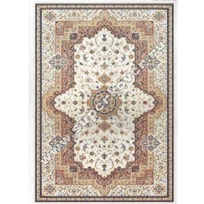 Турецкий ковер Машхад 0398a cream rose