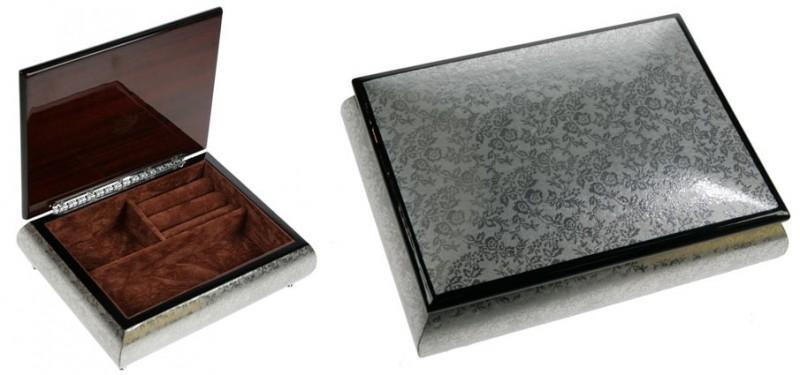 Шкатулка для ювелирных украшений Patterns on silver