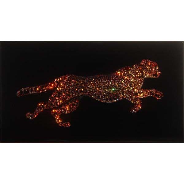 Картина из кристаллов «Гепард»