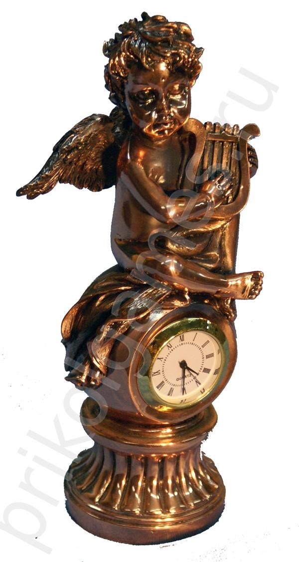 Статуэтка с часами Ангелочек