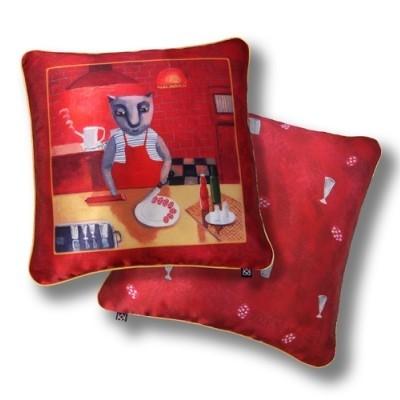 Декоративная подушка «Закуска»