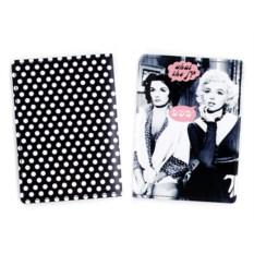 Обложка для паспорта Блонди