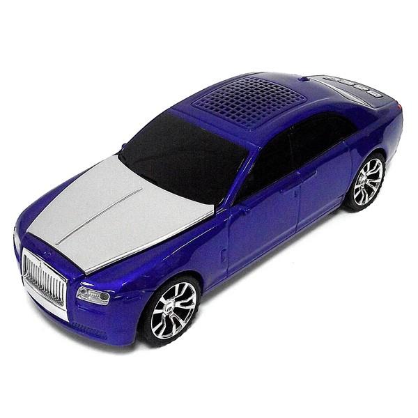 Музыкальный центр в виде автомобиля Rolls-Royce синий