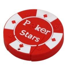 Красная флешка Фишка для покера