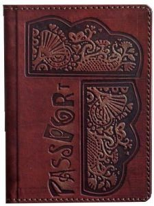 Обложка для паспорта Этно