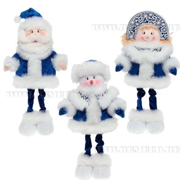 Дед Мороз, Снеговик, Снегурочка