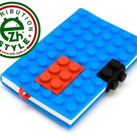 Блокнот - ежедневник Лего Синий