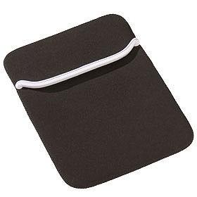 Чехол для iPad, черный с белым