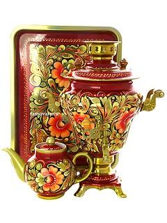 Набор с росписью Золотая кудрина