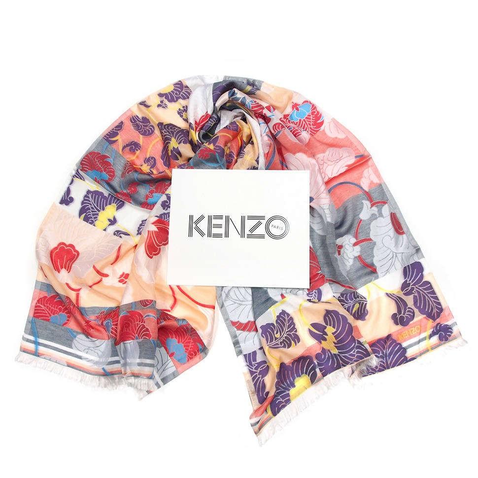 Дизайнерский палантин  Kenzo Homme