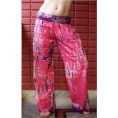 Женские розовые штаны