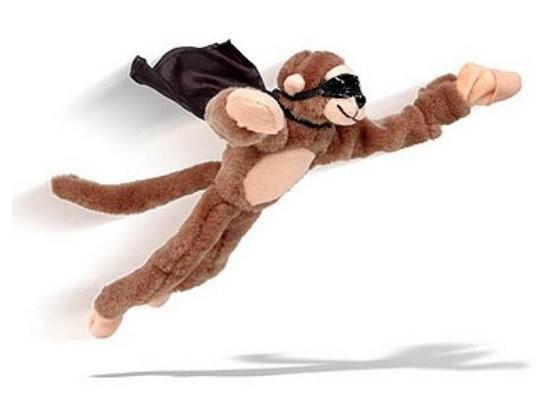 Игрушка Летающая обезьянка