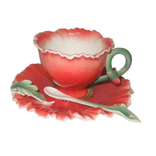 Чайная пара Маков цвет
