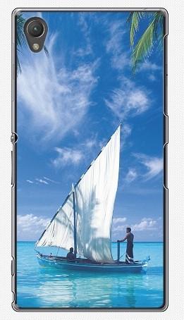 Чехол для Sony Xperia Z1 (пластик), рай