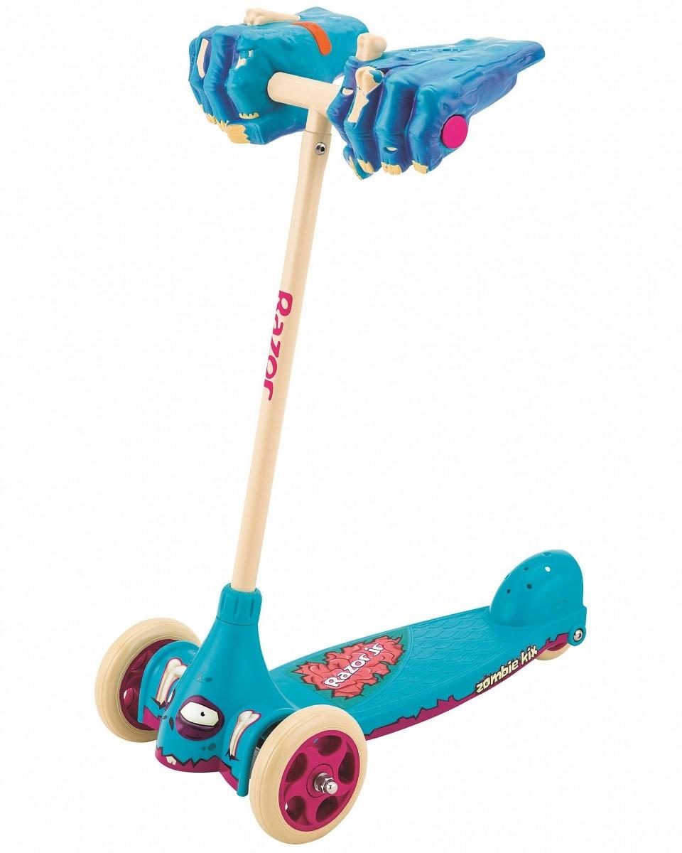 Детский трехколесный самокат Razor Zombie Kix