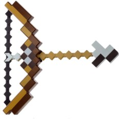 Лук и стрелы из Майнкрафт