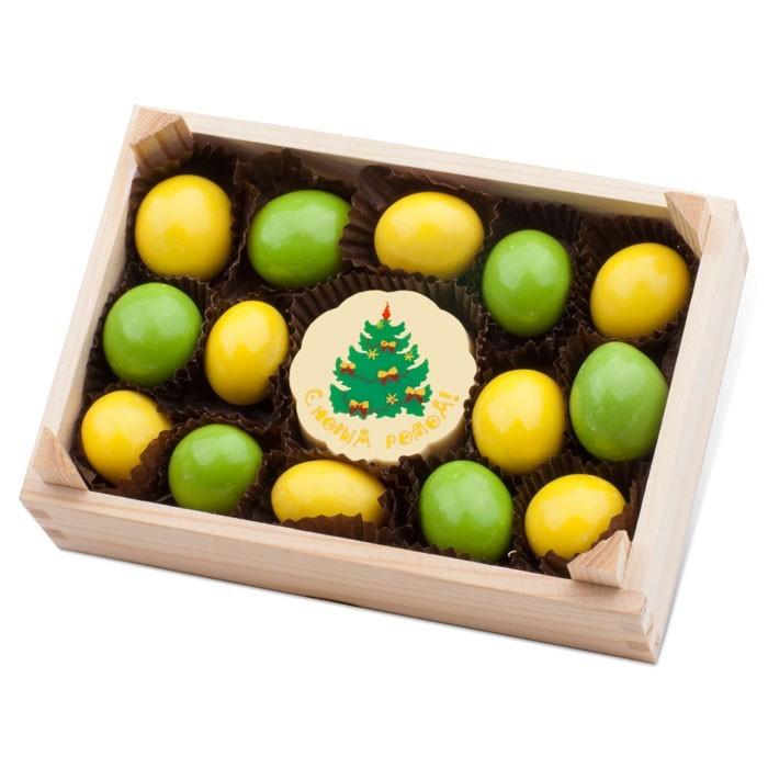 Набор драже и конфет Ящик с лимонами