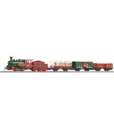 Стартовый набор Рождественский паровоз с тендером, PIKO 57080