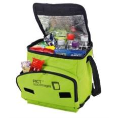 Салатовая сумка-холодильник на 7 литров Disemble