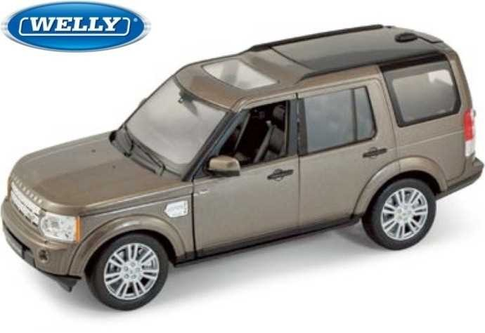 Модель машины 1:24 Land Rover Discovery 4 Welly