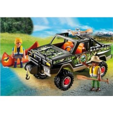 Конструктор Playmobil Wild Life Пикап с лодкой
