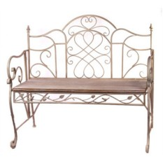 Кованный диван Венга